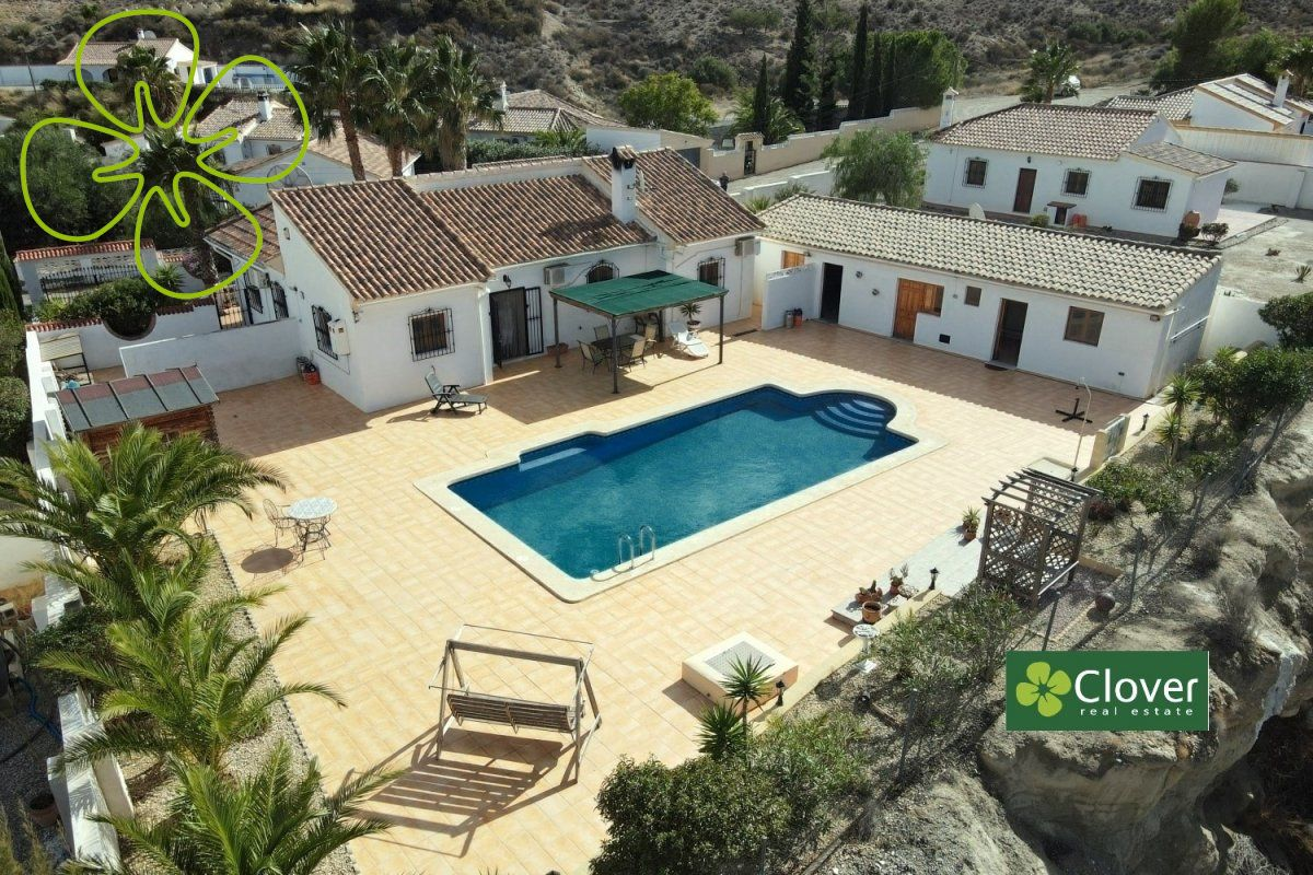 Ref:01124-6080 Villa For Sale in Arboleas