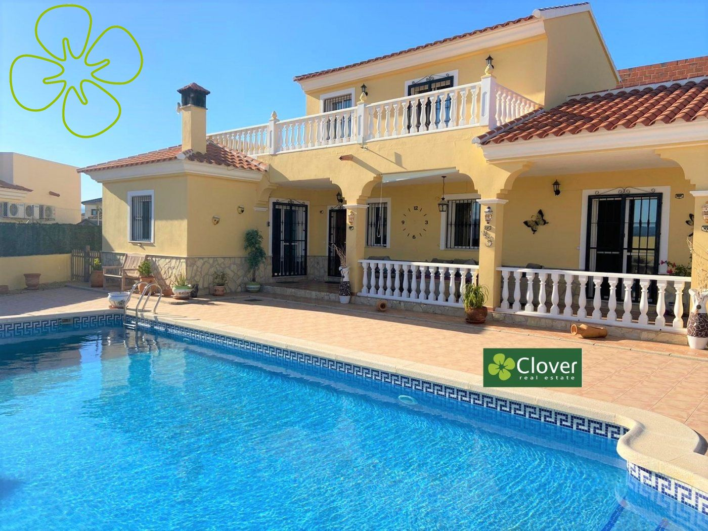 Ref:01175-6080 Villa For Sale in Arboleas