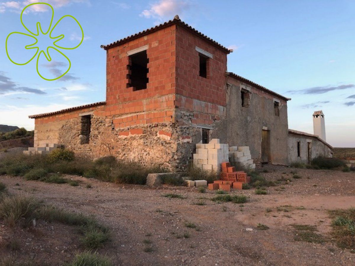 Ref:00373-6080 cortijo For Sale in Albox