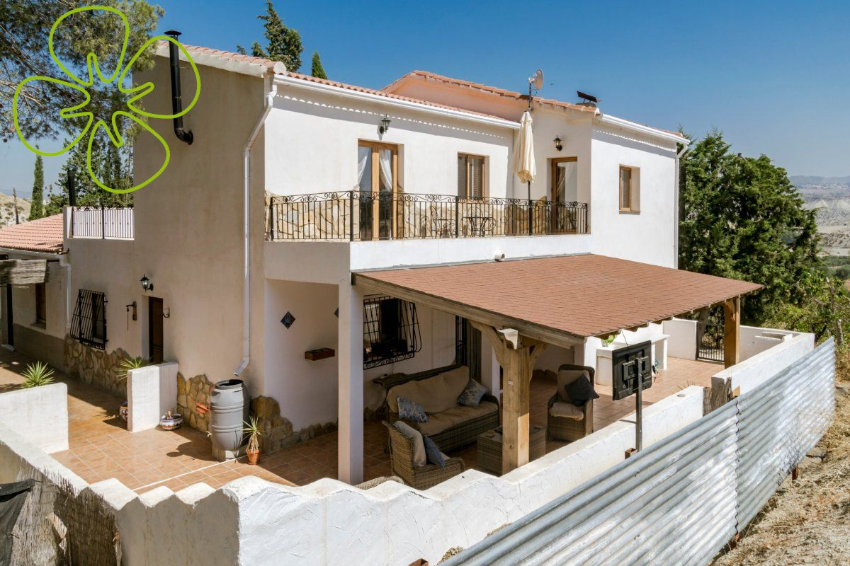 Ref:00432-6080 cortijo For Sale in Tijola