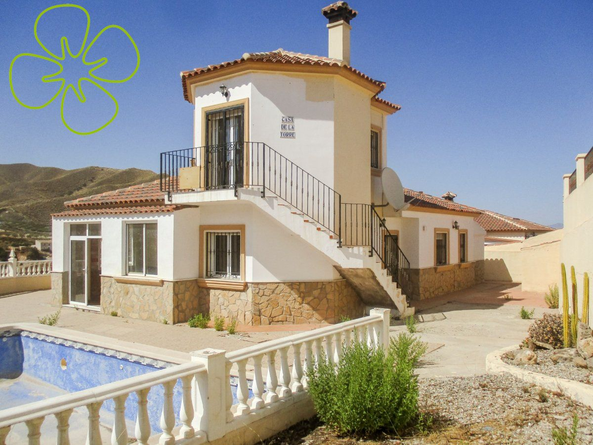 Ref:00510-6080 Villa For Sale in Arboleas