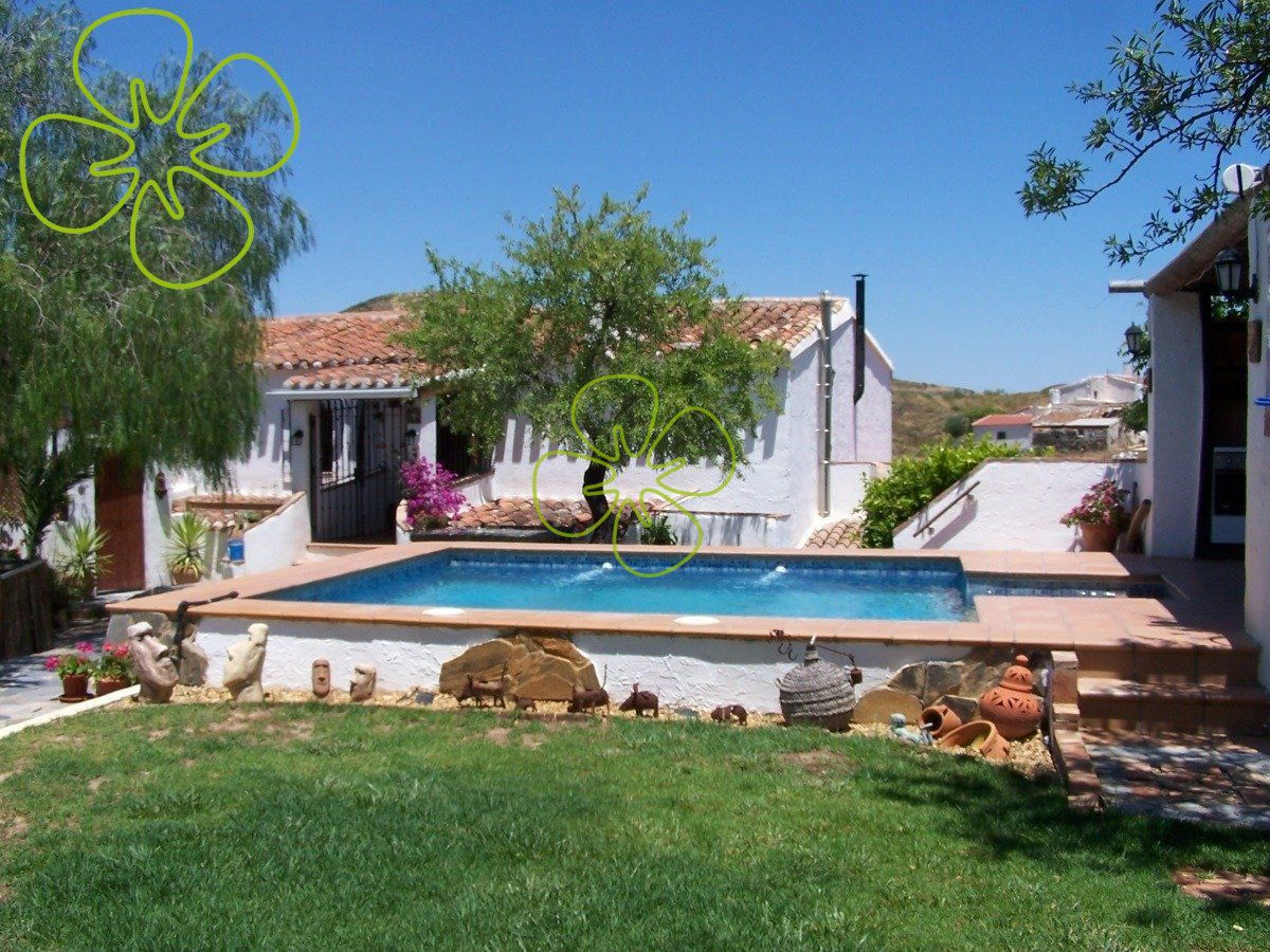 Ref:00897-6080 cortijo For Sale in Lubrin