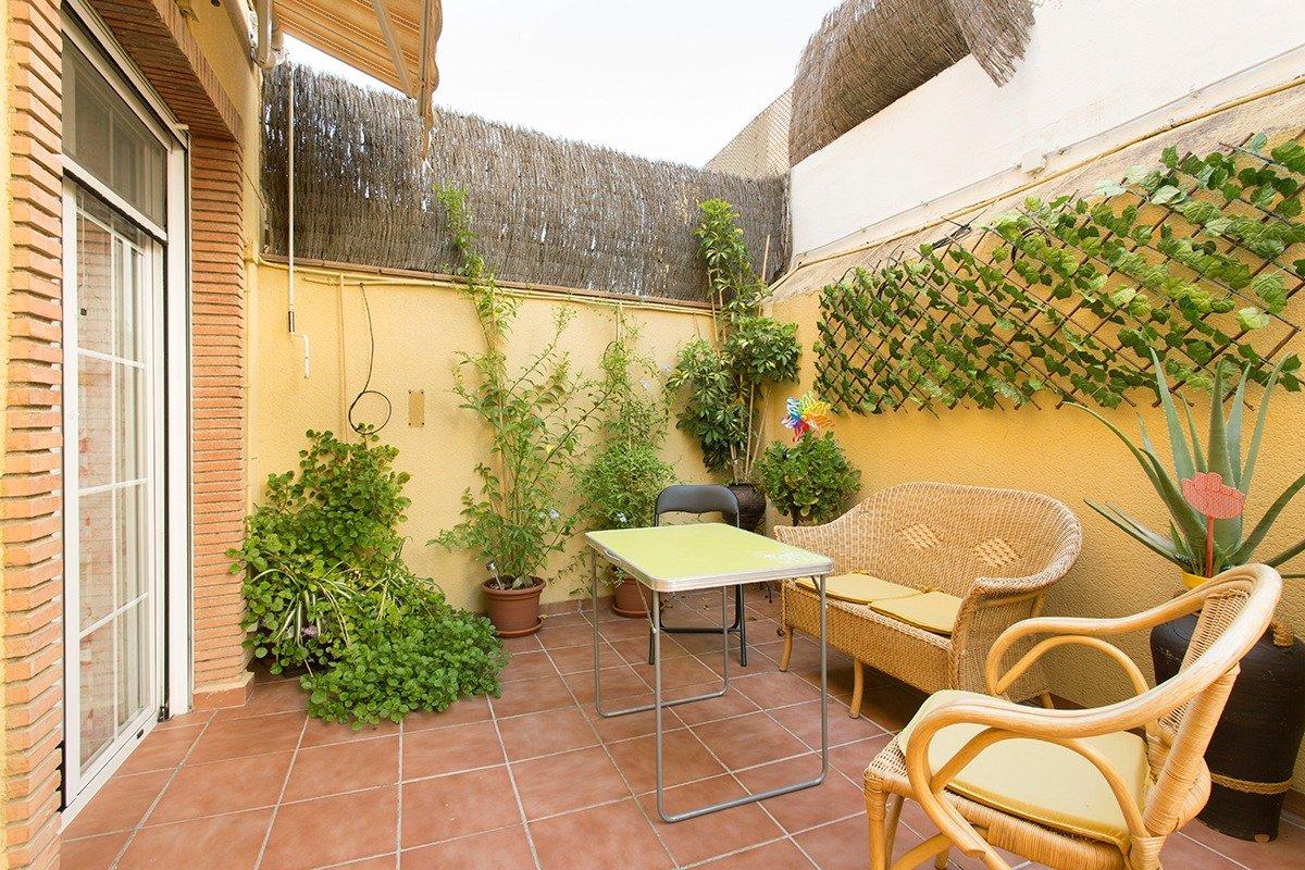 Piso en la Zubia. Gran terraza, Granada