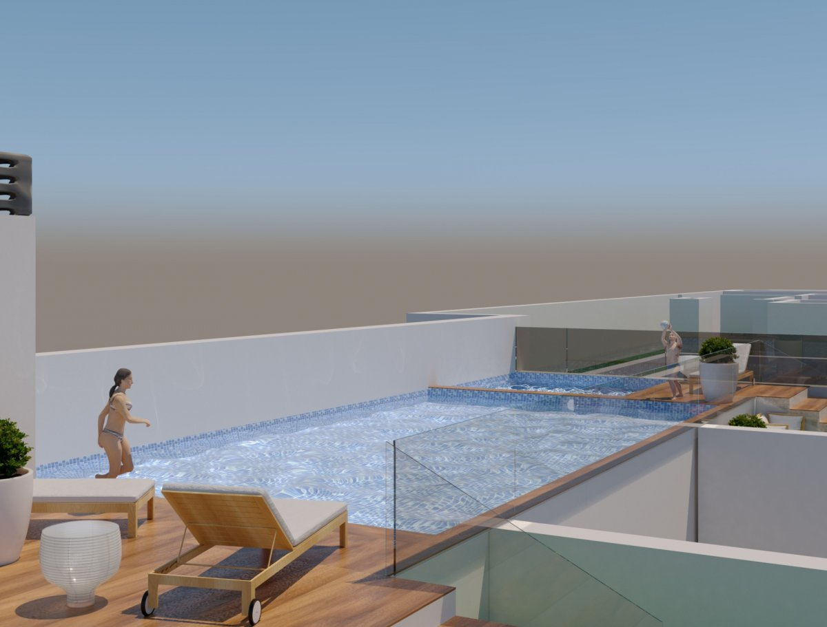 Penthouse w Torrevieja