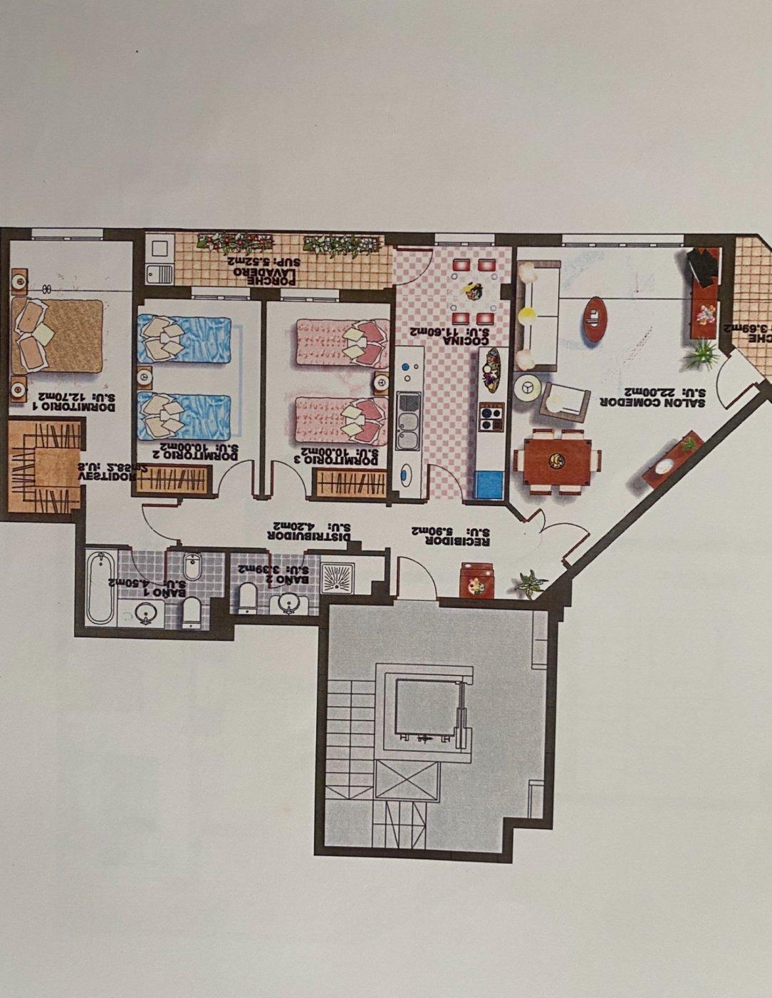 Primer piso con terraza y parking. inca. - imagenInmueble20