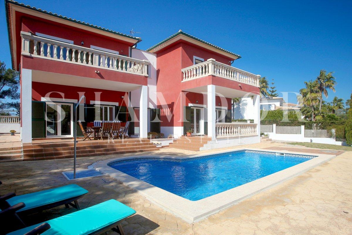villa en calvia · cala-vinyes 995000€