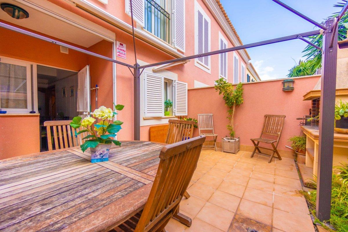 En venta precioso chalet adosado con terraza y garaje en zona colegios (son rapinya). - imagenInmueble23