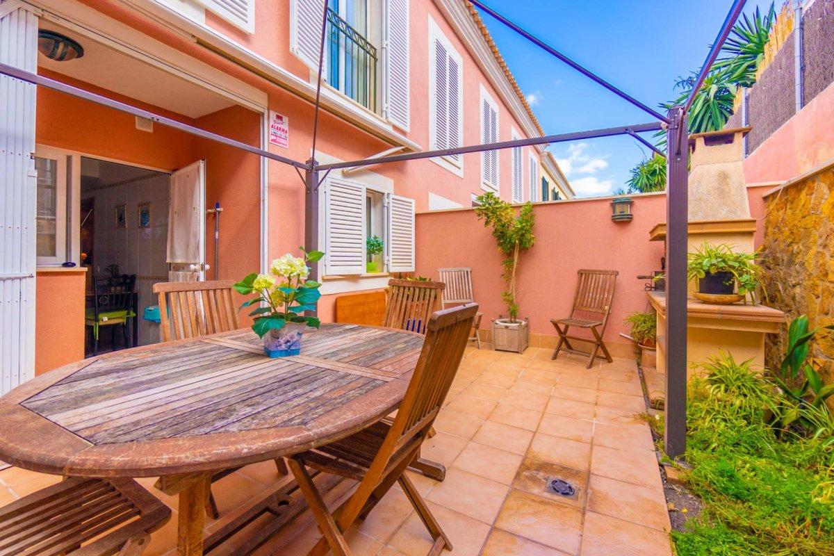 En venta precioso chalet adosado con terraza y garaje en zona colegios (son rapinya). - imagenInmueble25