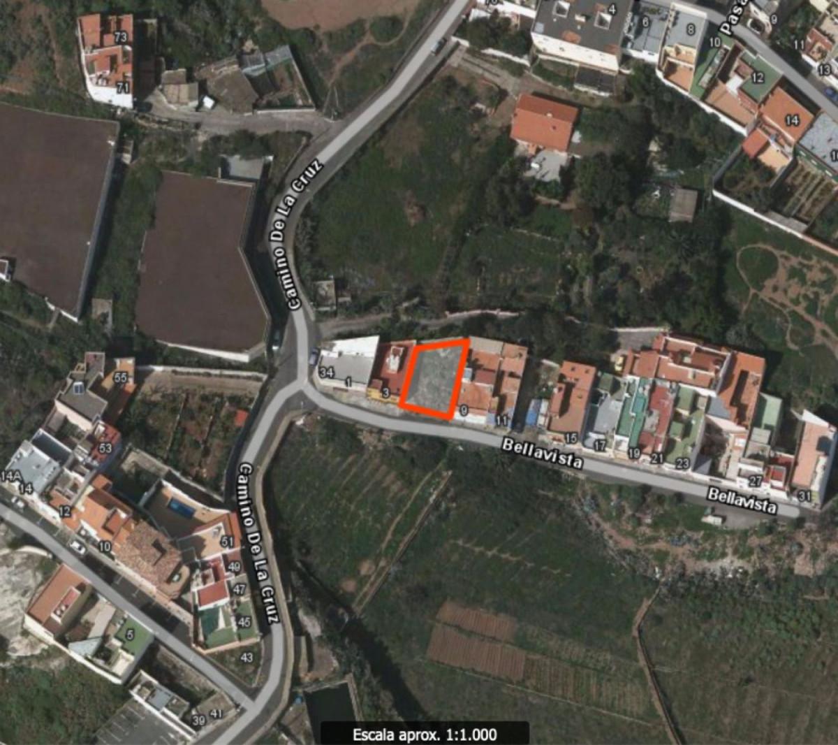 Arucas: en venta solar urbano con vistas y a pocos metros del casco antiguo de arucas - imagenInmueble0
