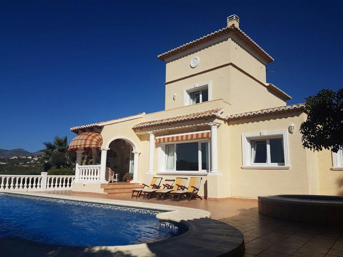 villa en calpe · casanova 520000€