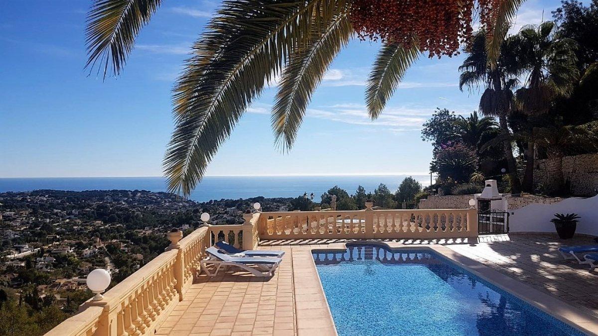 villa en benissa · bellavista 590000€