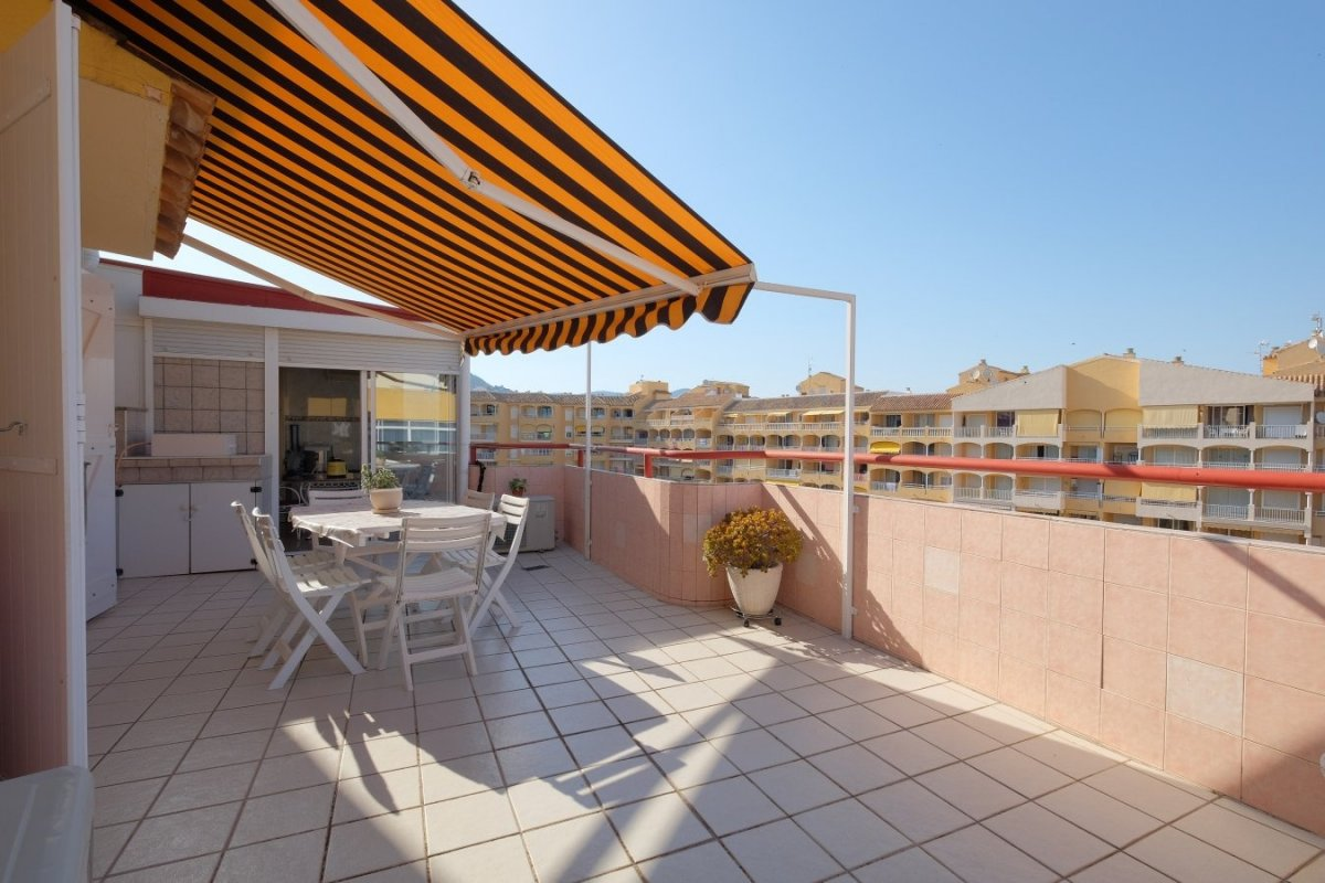penthouse en calpe · centro 169500€