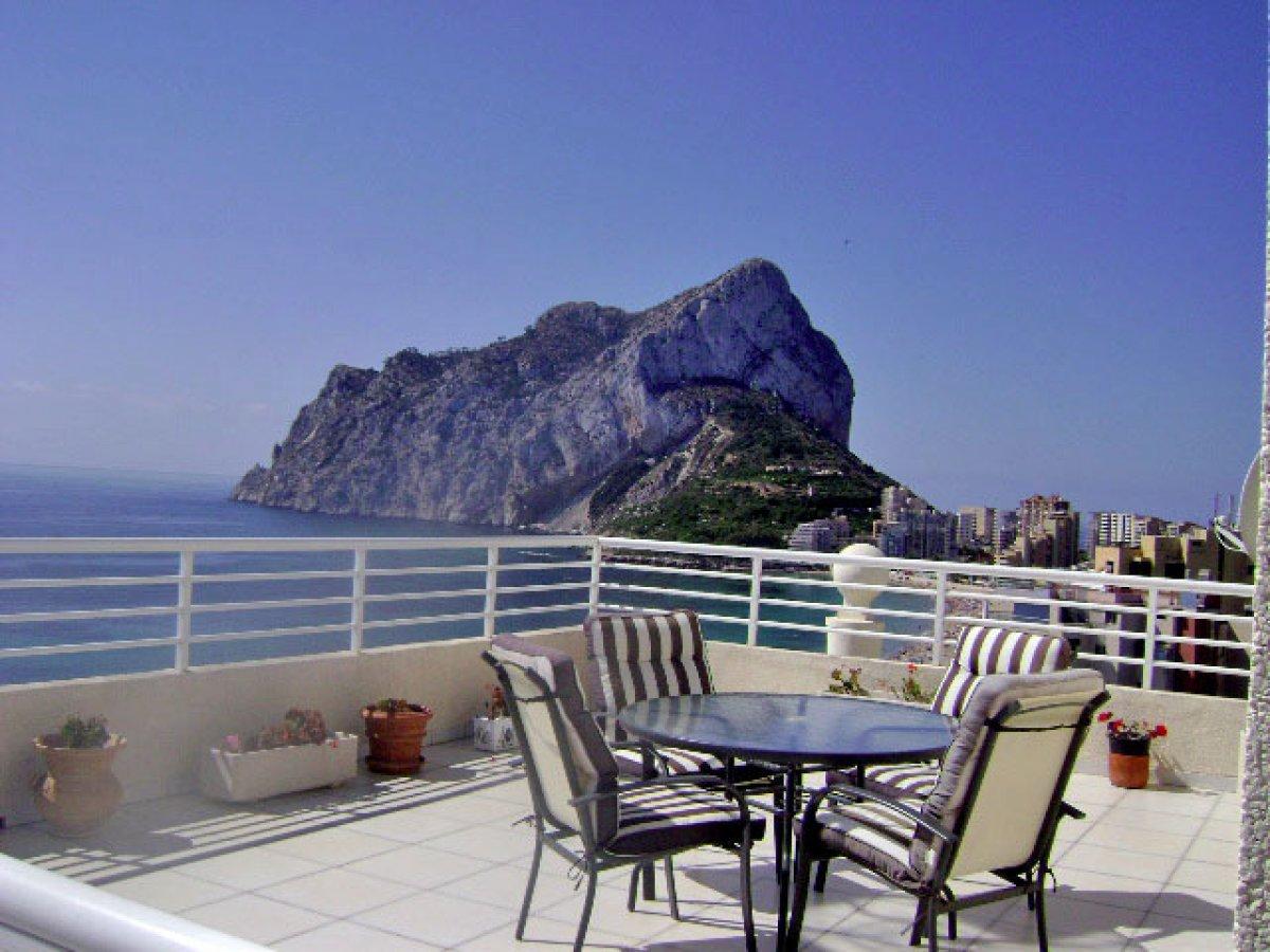 penthouse en calpe · playa-de-la-fossa 590000€