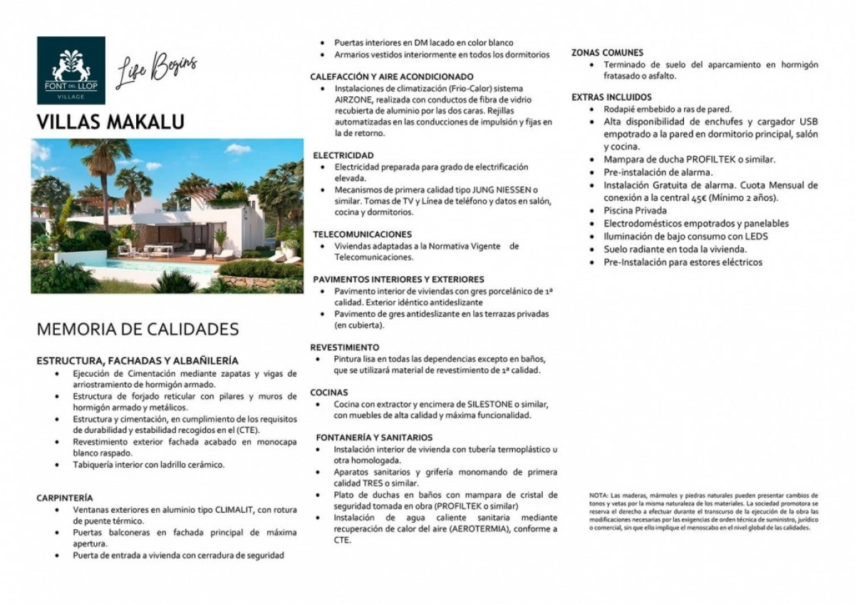Villas Makalu