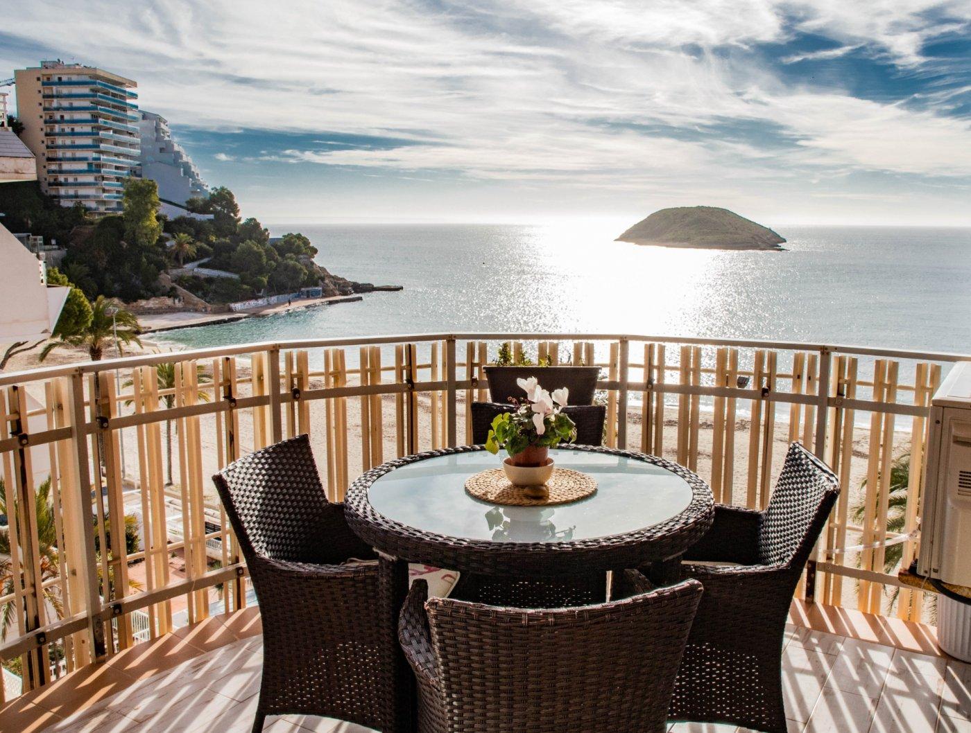 Alquiler con opcion de compra!espectacular apartamento con vistas al mar y parking propio - imagenInmueble0