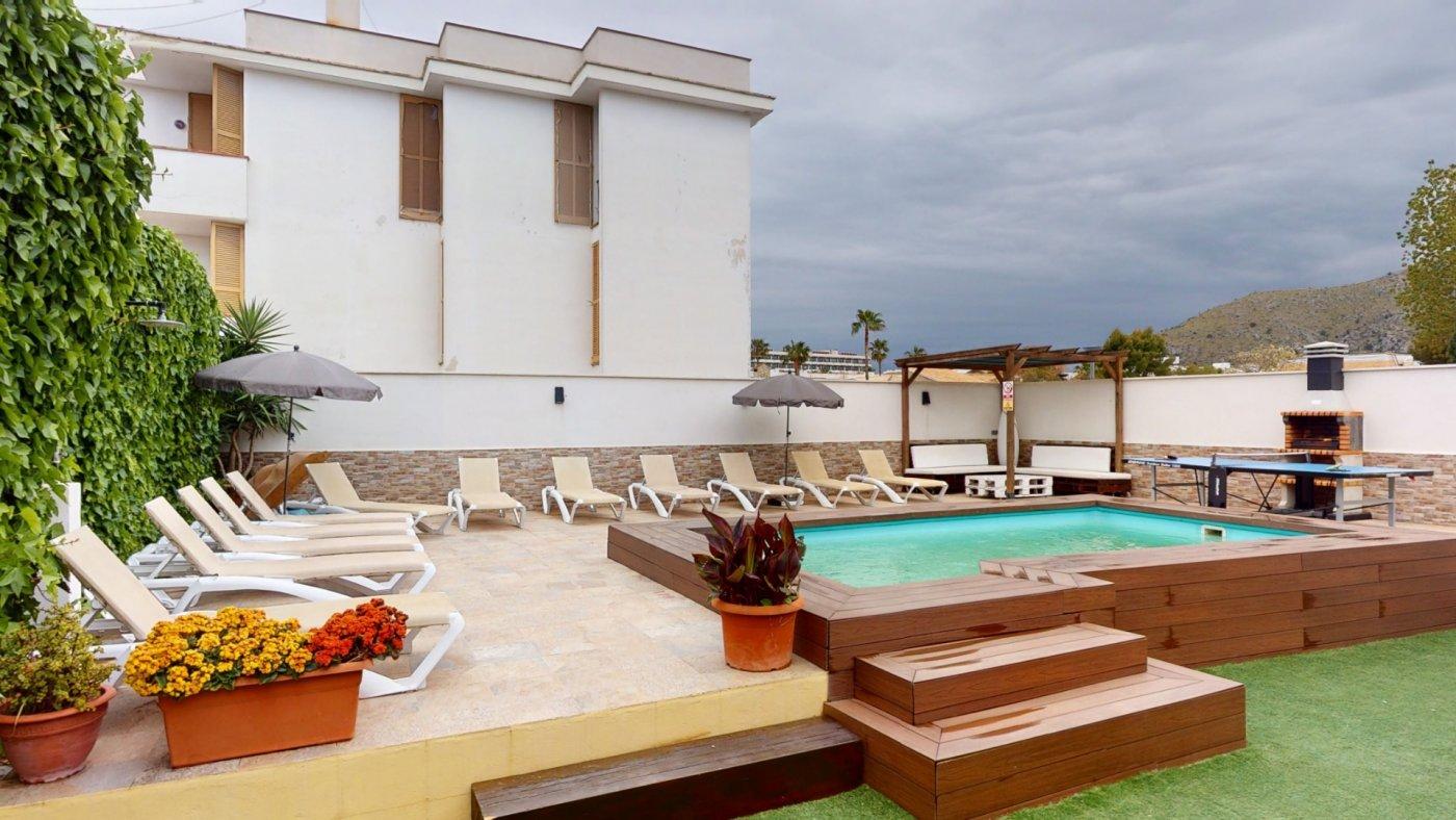 Bonita villa con licencia vacacional para 12 plazas ubicada en puerto de alcúdia - imagenInmueble0