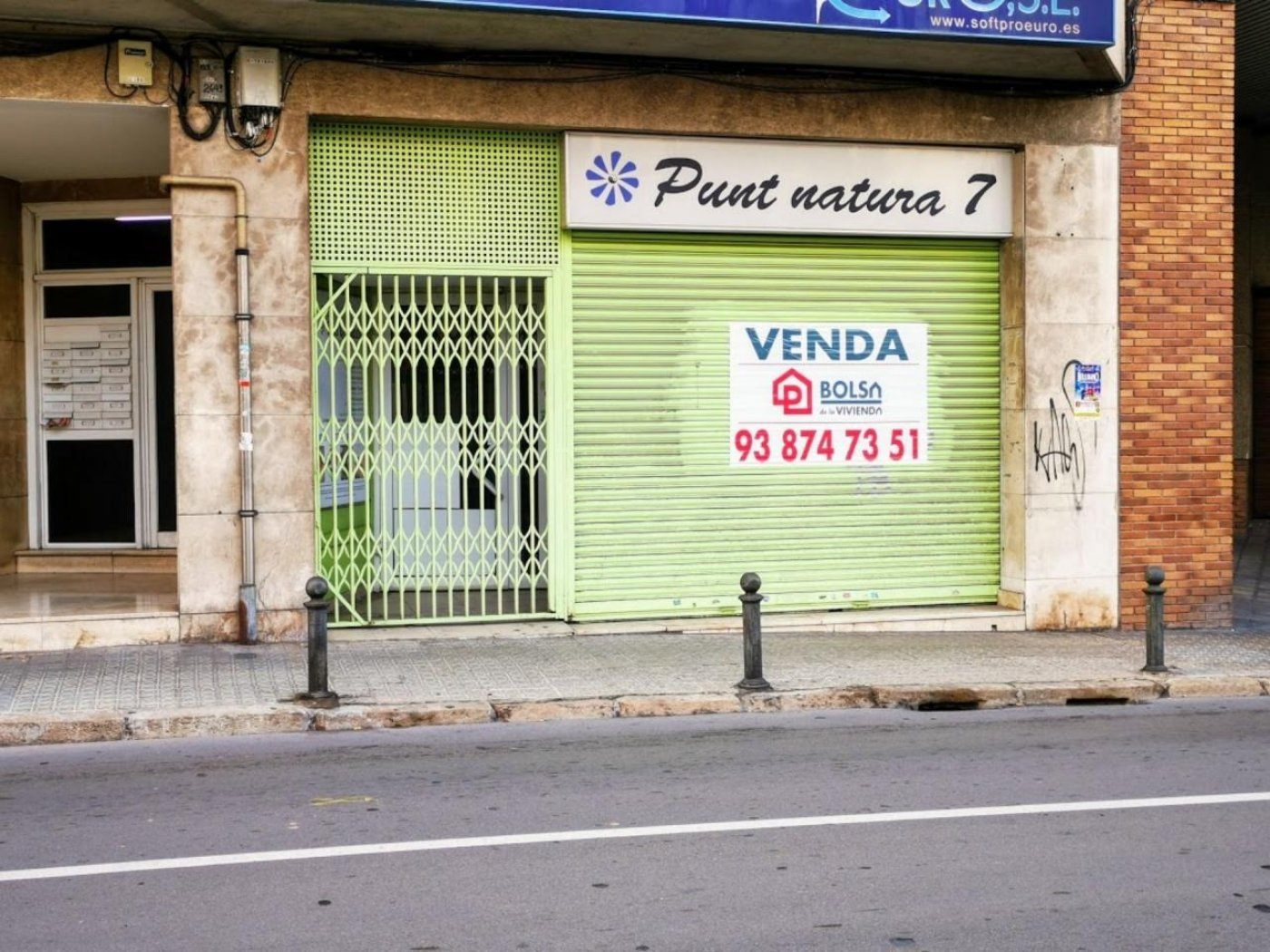 Local comercial en Manresa situado en la zona de Manresa Centre