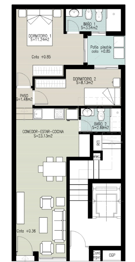 flats venta in elche elx asilo - pisos azules