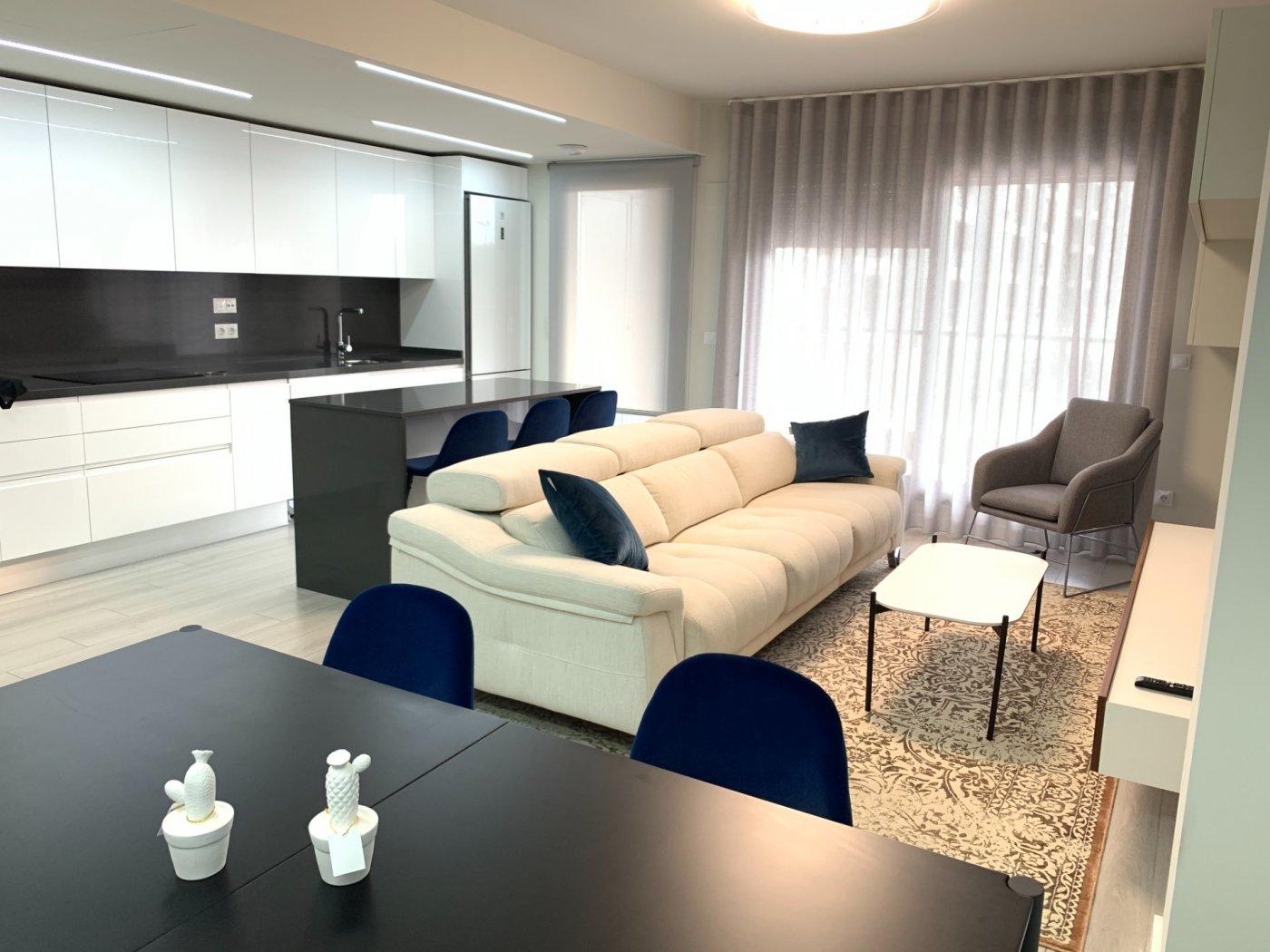 Alquiler espectacular vivienda , 1º de dos dormitorios con suelo radiante, a/a centralizad - imagenInmueble0