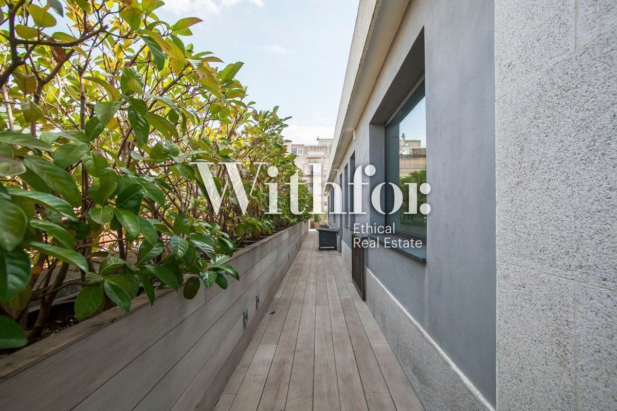 Magnificent penthouse with 85m2 terrace next to Plaza Gregori Tramaturg - 25