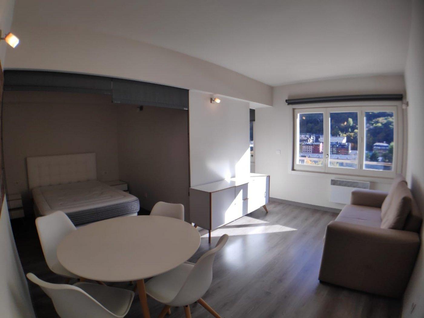Estudi moblta i lluminós al centre d'Andorra la Vella