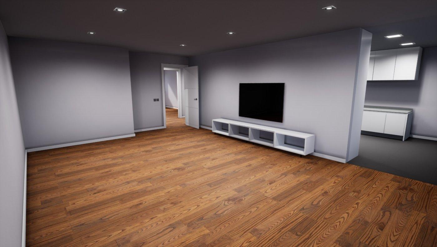 Pis d'Obra Nova de 3 habitacions