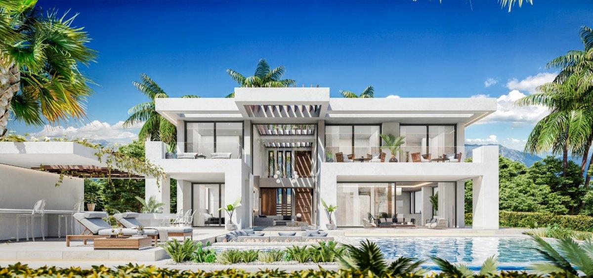 villa-de-lujo en estepona · nueva-milla-de-oro---new-golden-mile 985000€
