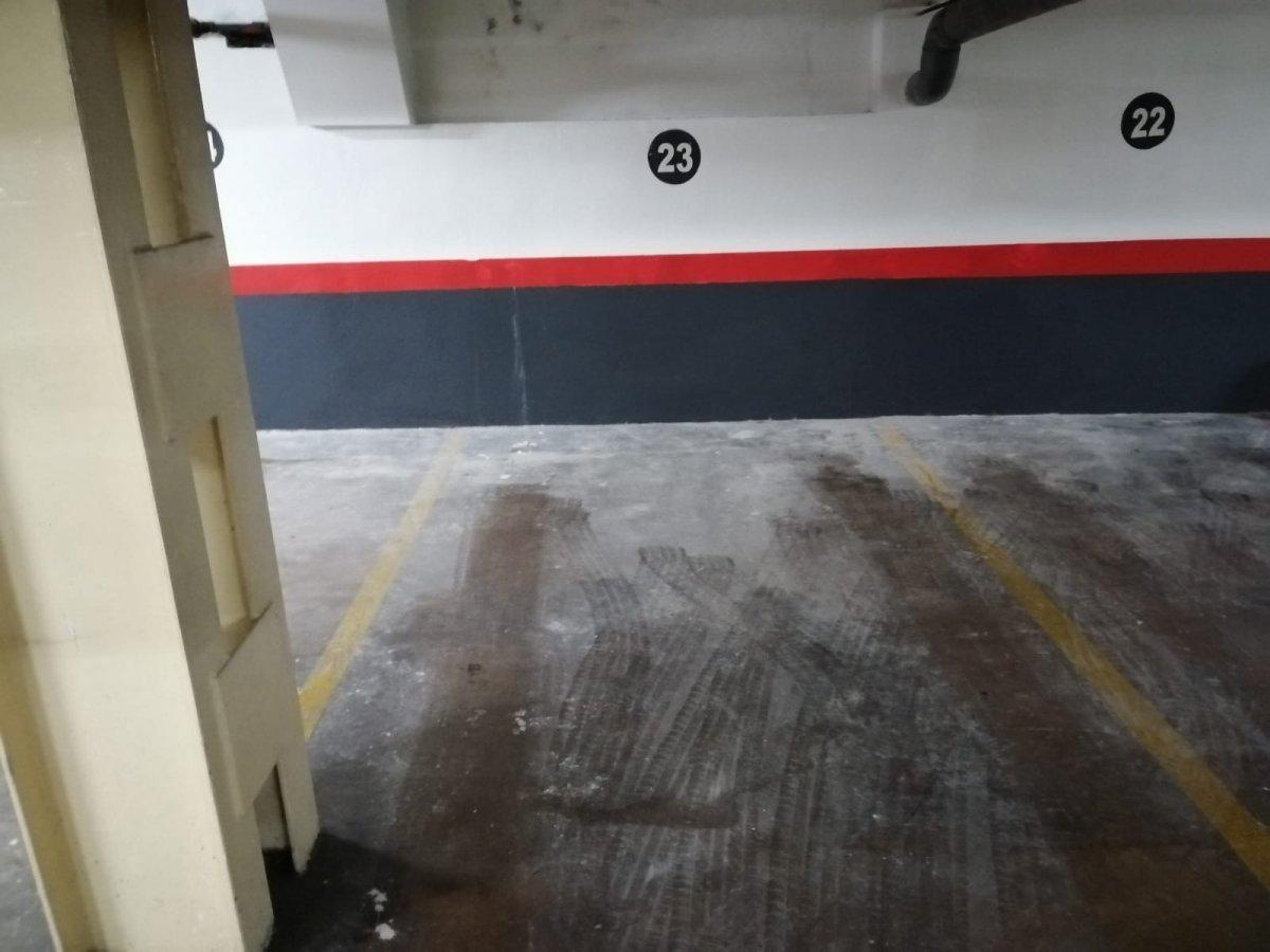 Garaje en alquiler en Centro, Zamora