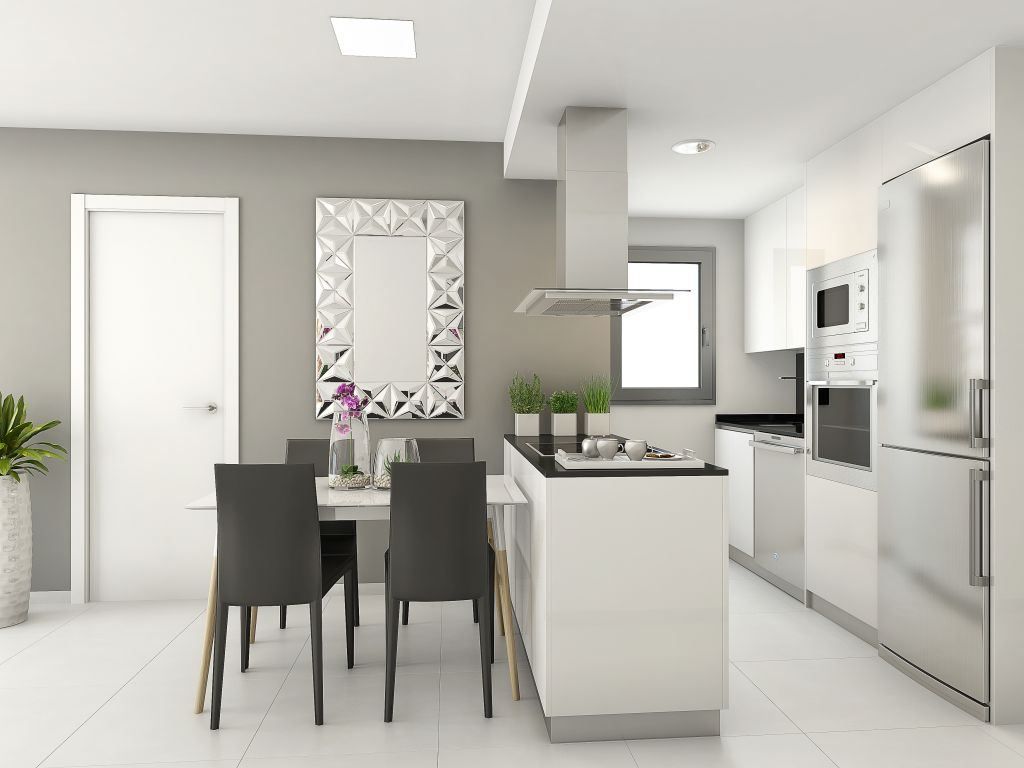 NEW BUILD IN TORREVIEJA WITH OPTIONS ON 1,2,3 BEDROOMS FROM 99.900EUROS (Playa del cura)