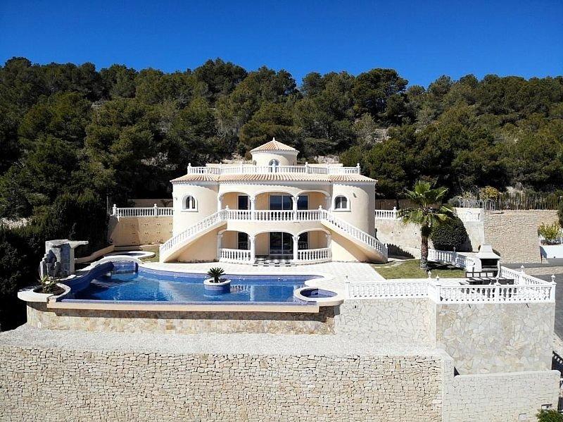 Impecable villa mediterránea española en calpe - imagenInmueble0