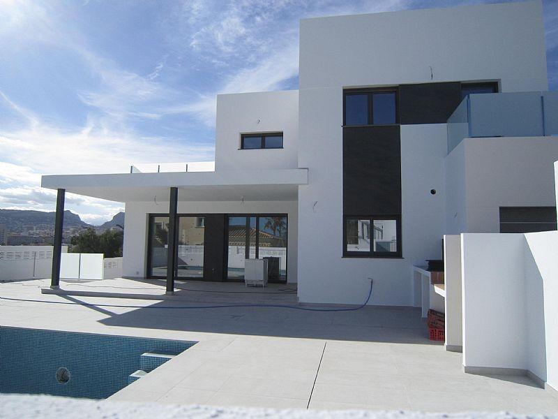 Villa nueva en construcción estilo moderno a 400 mts. mar calpe - imagenInmueble0
