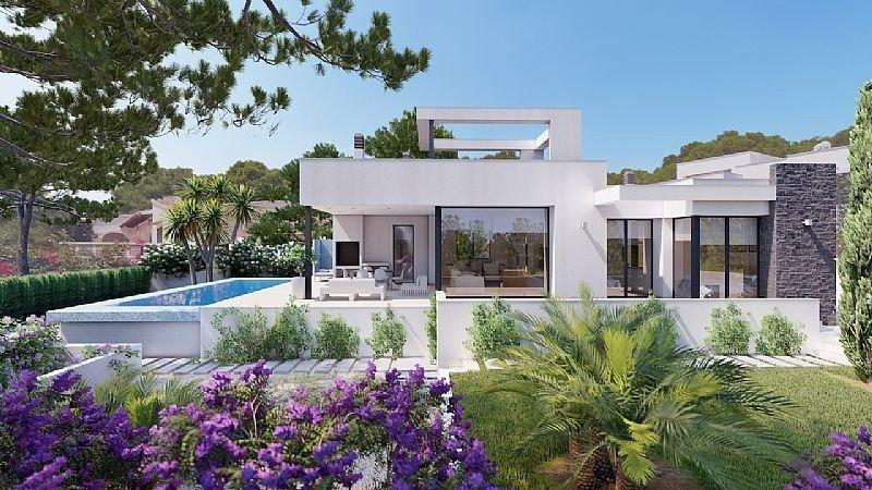 Villa moderna en benissa costa - imagenInmueble0