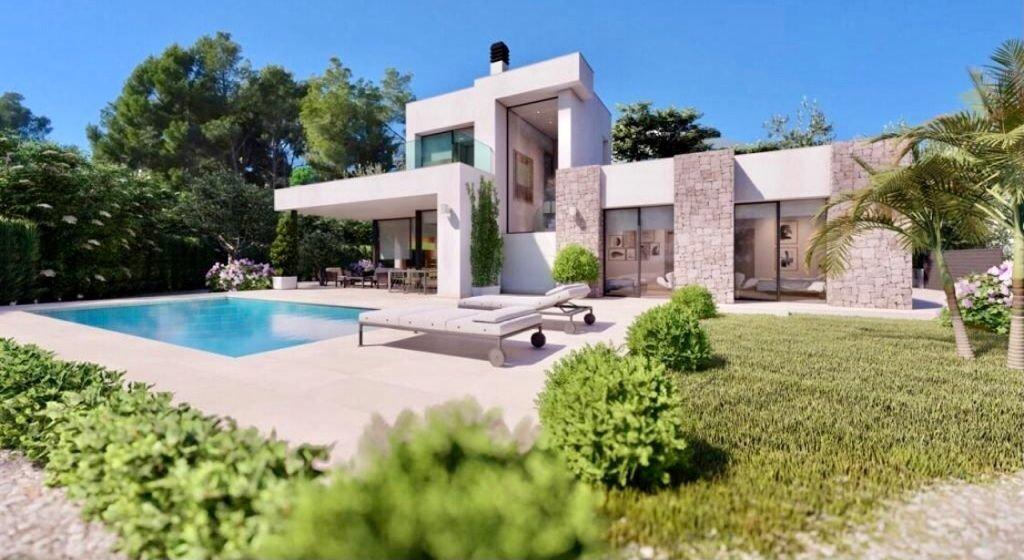 Villa nueva en construcción - benissa costa - imagenInmueble1