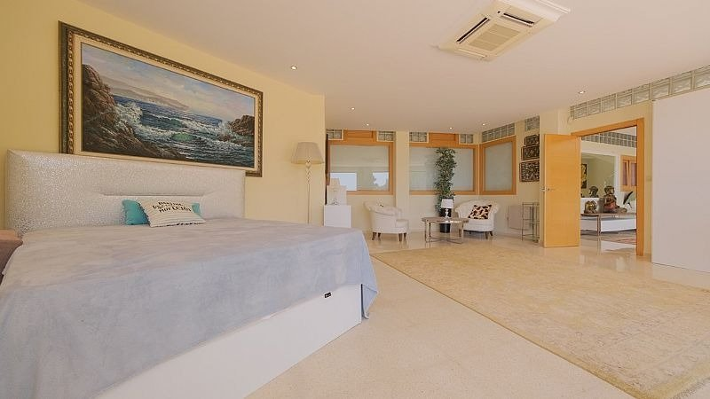 Villa de lujo con impresionantes vistas al mar y a la bahía de altea - imagenInmueble13