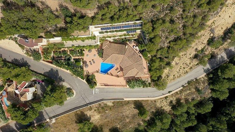 Villa de lujo con impresionantes vistas al mar y a la bahía de altea - imagenInmueble1