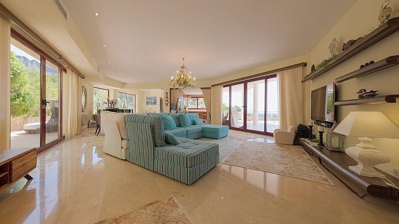 Villa de lujo con impresionantes vistas al mar y a la bahía de altea - imagenInmueble30