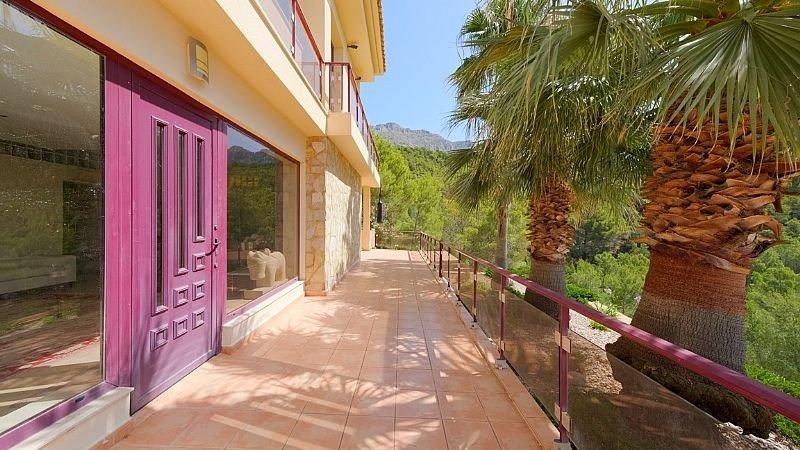 Villa de lujo con impresionantes vistas al mar y a la bahía de altea - imagenInmueble6
