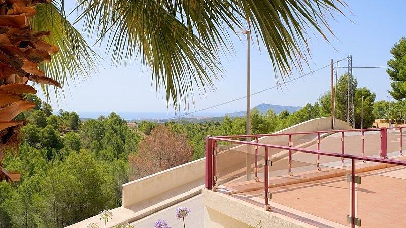 Villa de lujo con impresionantes vistas al mar y a la bahía de altea - imagenInmueble7