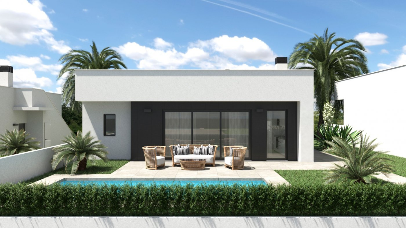 Villa con piscina en campo de golf - alhama de murcia - imagenInmueble0