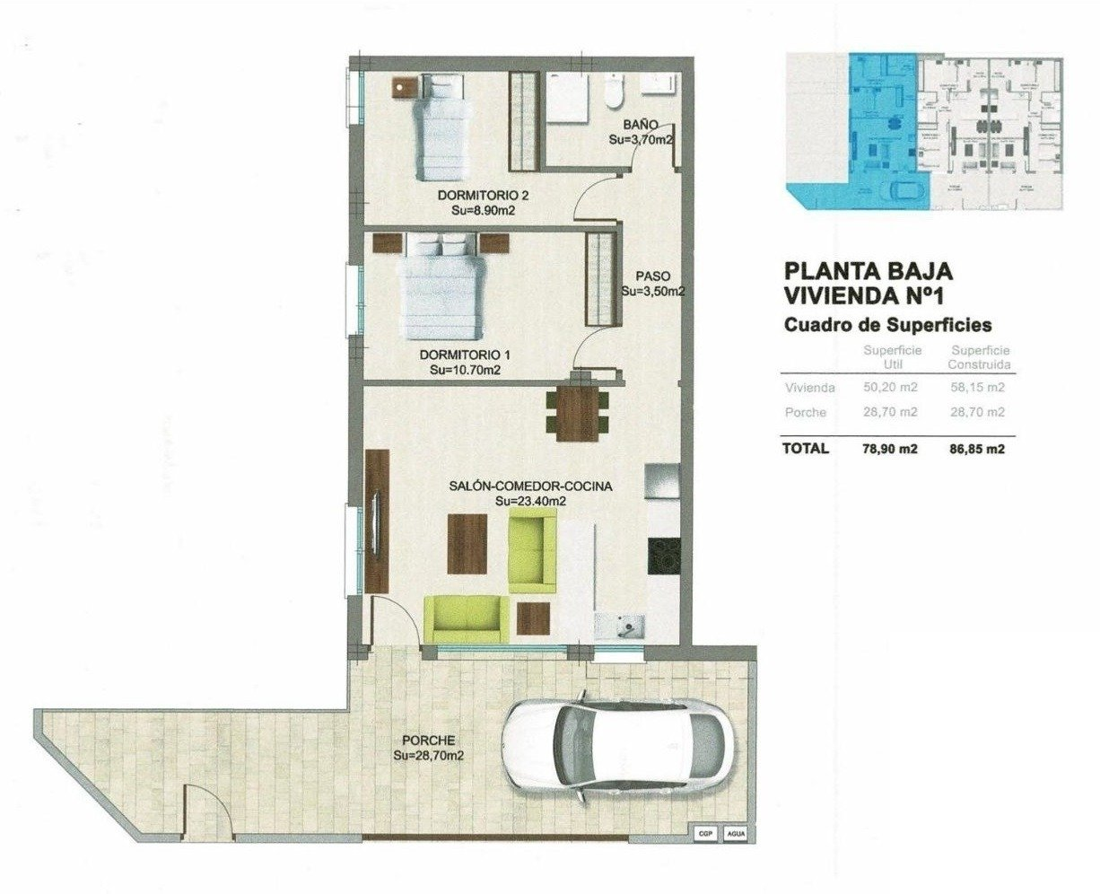 Moderno apartamento planta baja en el mojón - imagenInmueble13