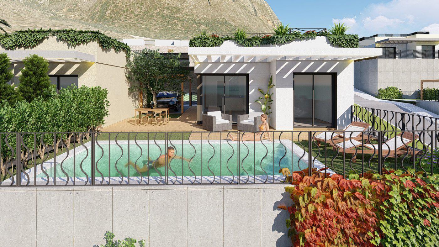 Villas de obra nueva con vistas al mar situadas en polop - imagenInmueble9
