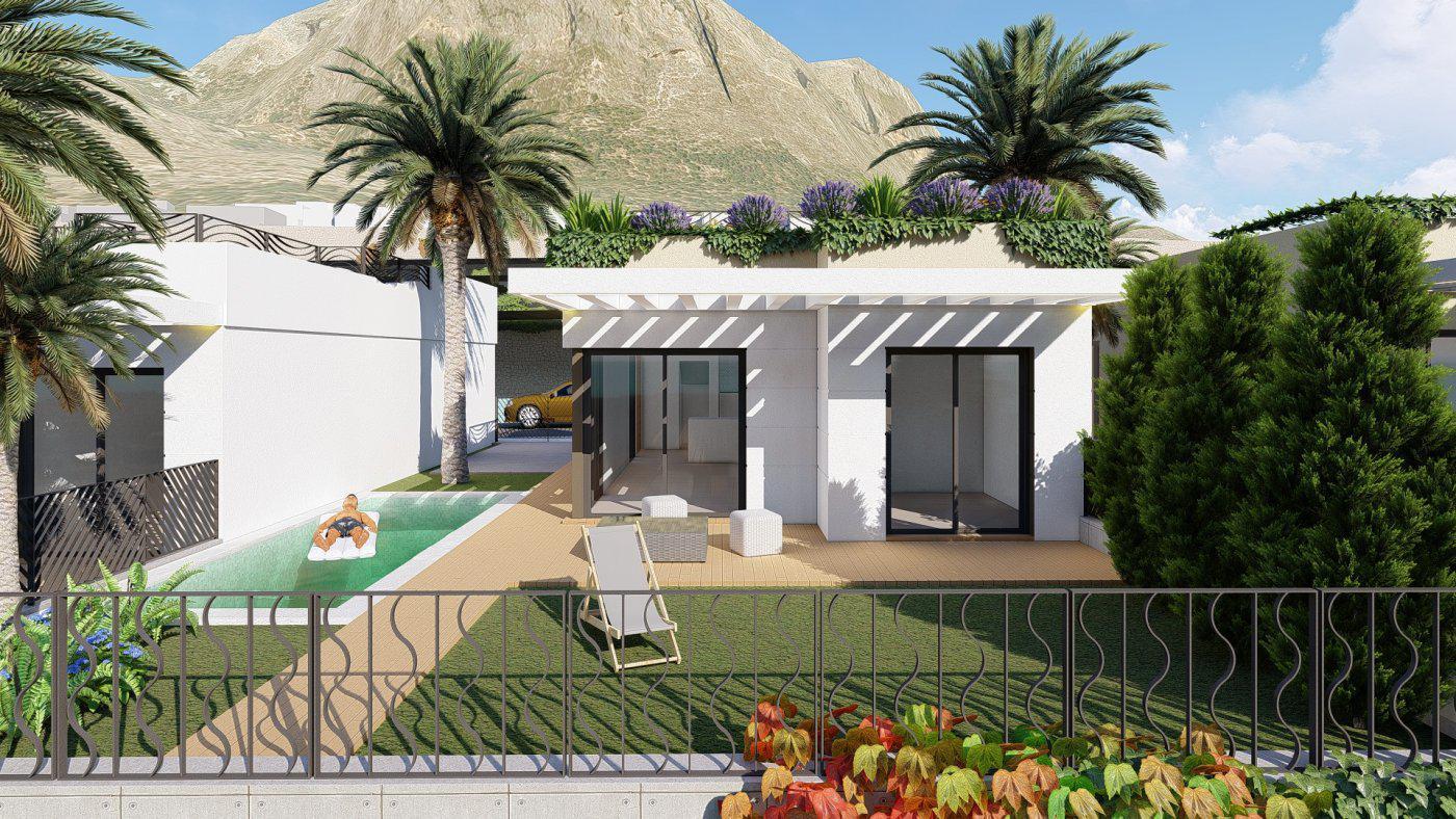 Villas de obra nueva con vistas al mar situadas en polop - imagenInmueble11