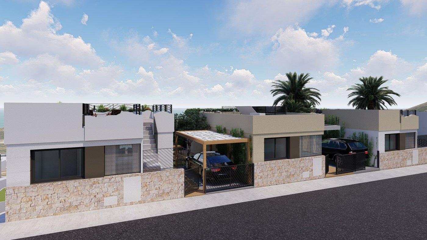 Villas de obra nueva con vistas al mar situadas en polop - imagenInmueble12
