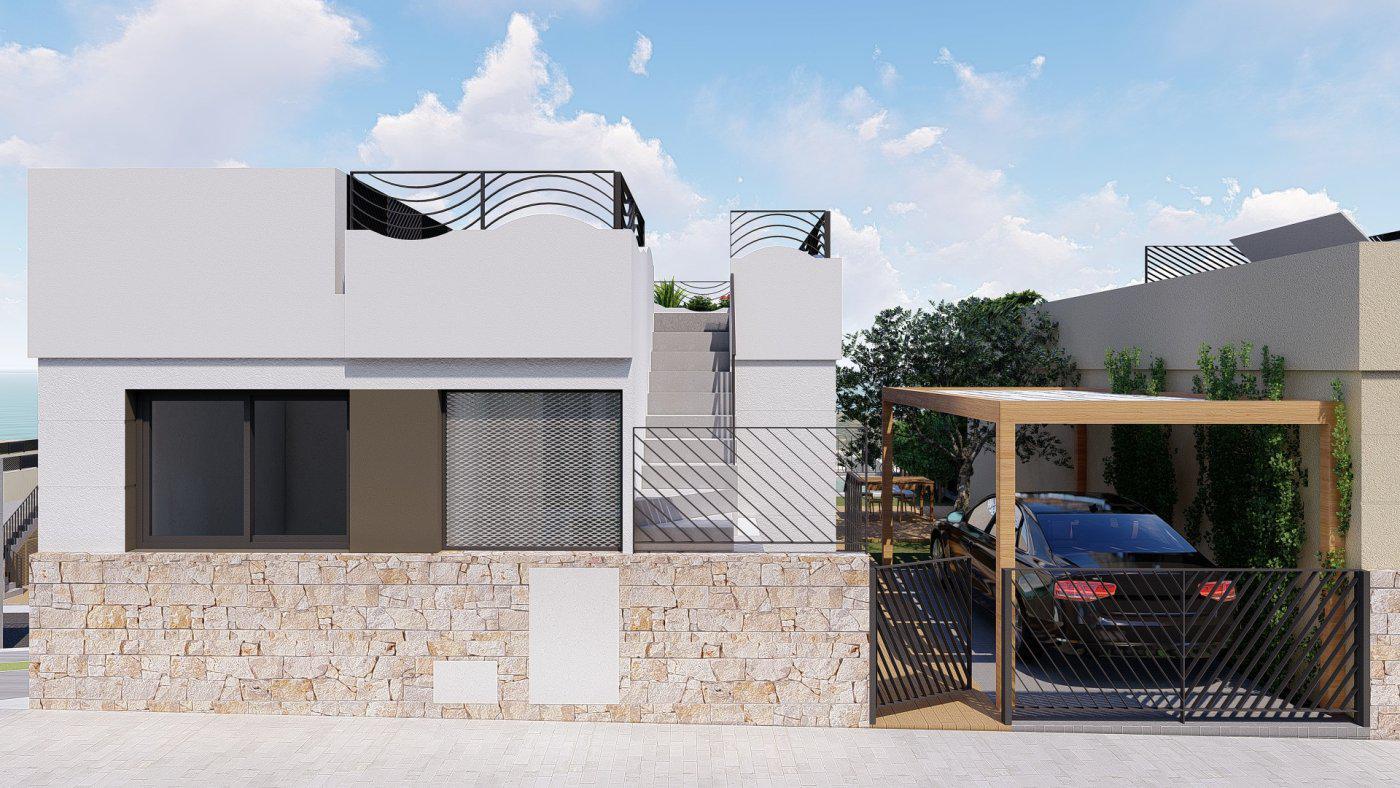 Villas de obra nueva con vistas al mar situadas en polop - imagenInmueble13