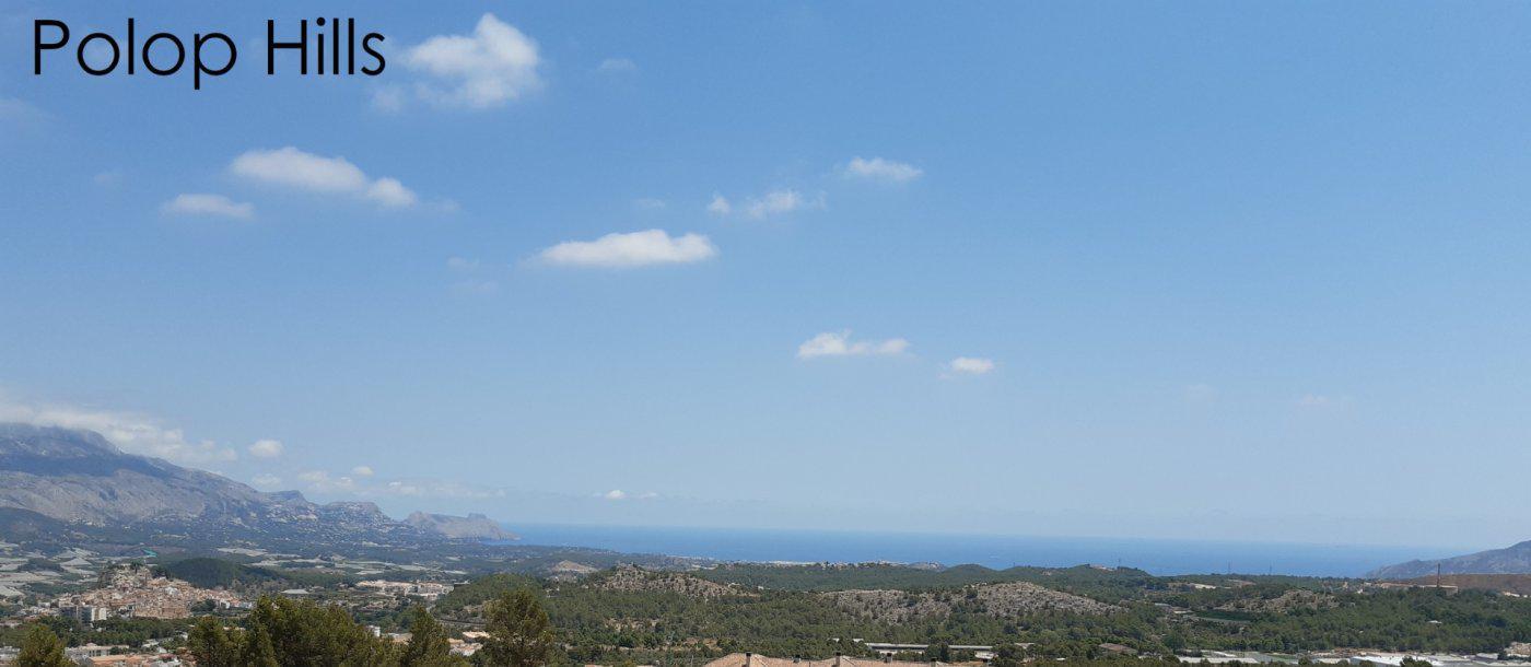 Villas de obra nueva con vistas al mar situadas en polop - imagenInmueble3