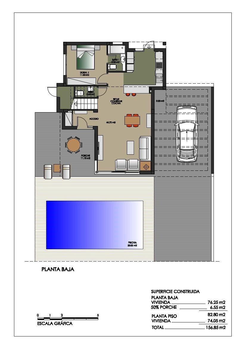 Villa de obra nueva en orihuela costa (campoamor) - imagenInmueble14