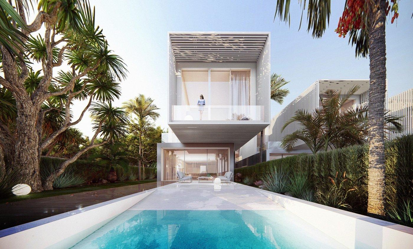 Próxima construcción de villas exclusivas independientes en el campello. - imagenInmueble0