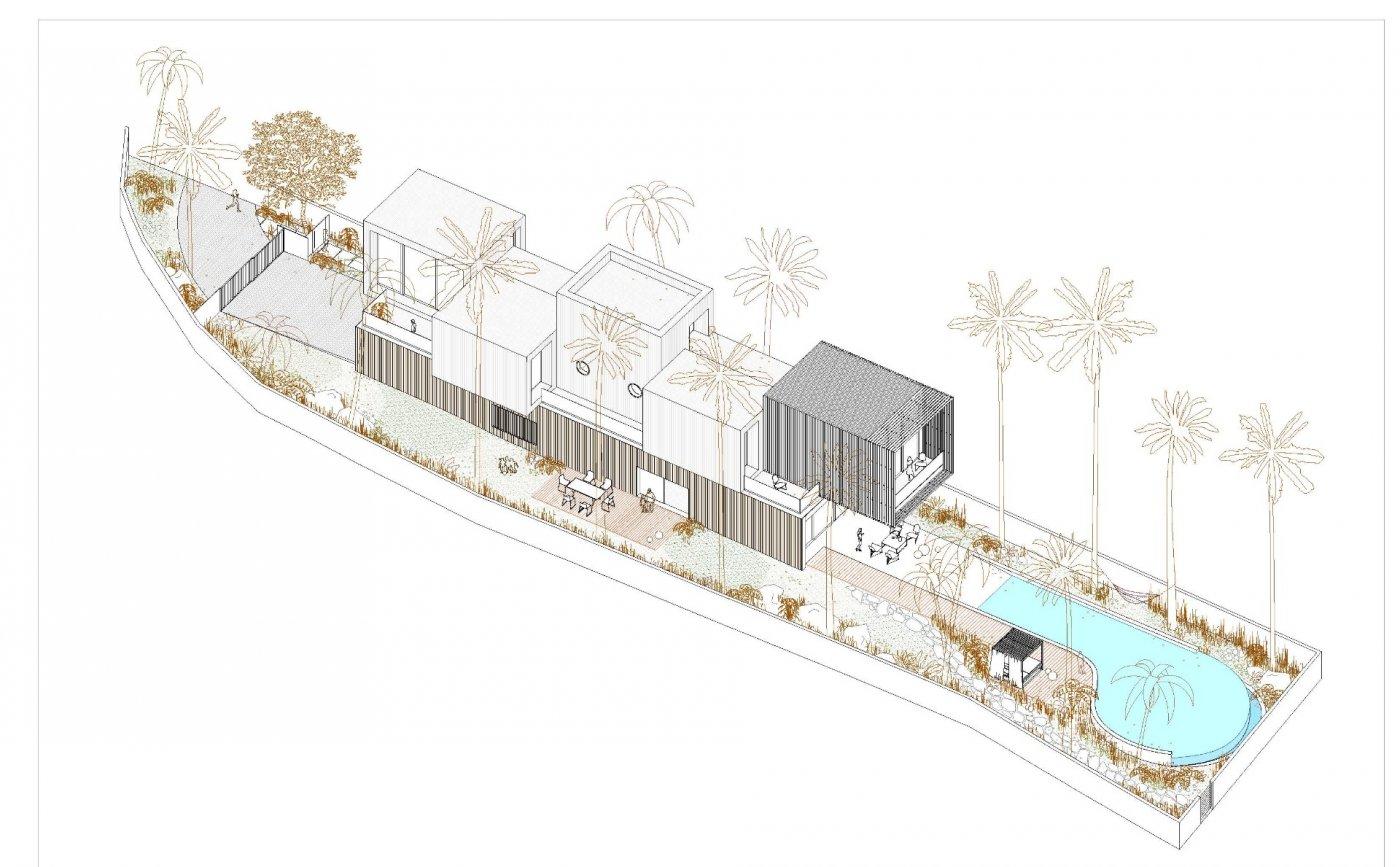 Próxima construcción de villas exclusivas independientes en el campello. - imagenInmueble8