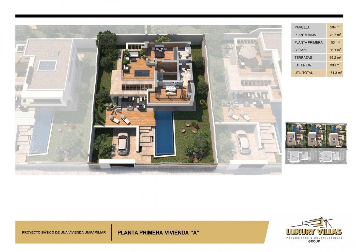 5 villas de lujo nuevas en ciudad quesada, costa blanca - imagenInmueble17