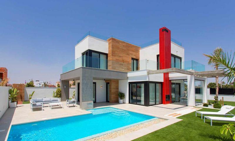 Villa nueva moderna con vistas al mar en los alcÁzares!! - imagenInmueble0